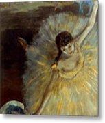 Degas: Arabesque, 1876-77 Metal Print by Granger