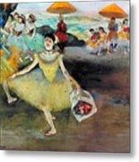 Degas: Dancer, 1878 Metal Print
