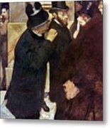 Degas: Stock Exchange Metal Print