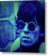 Deja Blue Rolling Stones Bill Wyman Metal Print