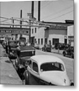 Del Mar Canning Co. And Sea Pride Packing Co. And Hovden Food Pr Metal Print