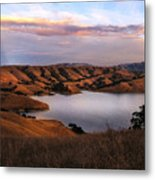 Del Valle At Sunset Metal Print