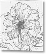 Lush Blossom Metal Print