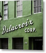 Delacroix Corp., New Orleans, Louisiana Metal Print