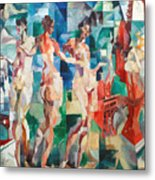 Delaunay: City Of Paris Metal Print