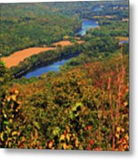 Delaware River From The Appalachian Trail Metal Print