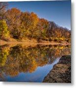 Delaware River Metal Print