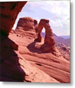 Delicate Arch 2 Metal Print
