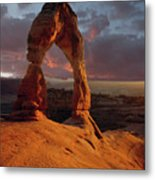 90134 Delicate Arch Metal Print