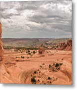 Delicate Arch Panoramic Metal Print