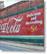 Delicious And Refreshing Metal Print