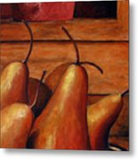 Delicious Pears Metal Print