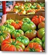 Delicious Tomatoes Metal Print