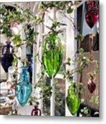 Delightful Hanging Gardens Metal Print