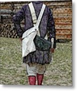 Delivering The Declaration  Metal Print by Diane E Berry