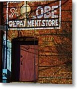 Delivery Door Metal Print