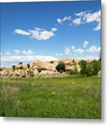 Dells And Lake Metal Print