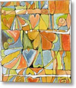 Delusions Of The Heart Metal Print