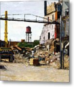Demolition 4  Metal Print