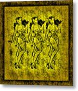 Demonios De Oro Metal Print