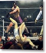 Dempsey And Firpo  Metal Print