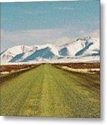 Dempster Highway - Yukon Metal Print