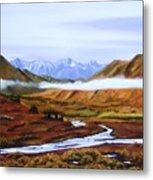 Denali Autumn Metal Print