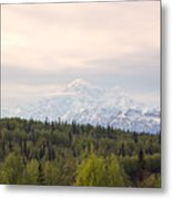 Denali Produces Its Own Weather Metal Print