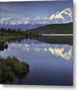 Denali Wonder Lake Metal Print