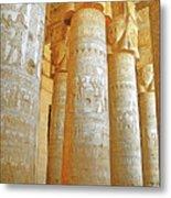 Dendera Temple Metal Print