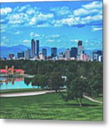 Denver City Park Metal Print