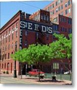 Denver Downtown Warehouse Metal Print