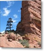 Denver Red Rocks Metal Print