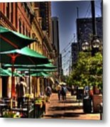 Denver Sidewalk Metal Print