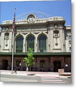Denver - Union Station Film Metal Print
