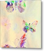 Departure In Purpose And Life As You Are By Lisa Kaiser Metal Print