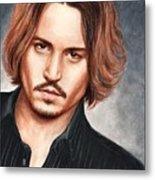 Depp Metal Print by Bruce Lennon