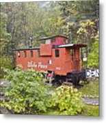 Derailed Metal Print