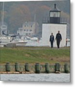 Derby Wharf Light Metal Print