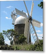 Derbyshire Windmill Metal Print
