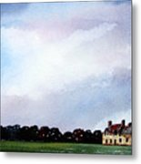Derelict Farmhouse Near Malton Metal Print