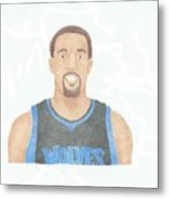 Derrick Williams Metal Print