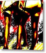 Derriere Metal Print