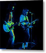 Derringer 77 #48 Enhanced In Cosmicolors Metal Print