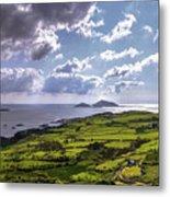 Derrynane National Park Along Ring Of Kerry, Ireland Metal Print