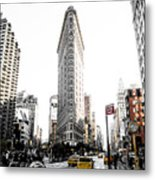Desaturated New York Metal Print