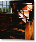 Descending Light Metal Print