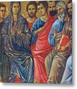 Descent Of The Holy Spirit Upon The Apostles Fragment 1311 Metal Print
