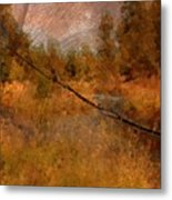 Deschutes River Abstract Metal Print