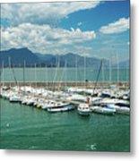 Desenzano Del Garda Lighthouse Italy Metal Print
